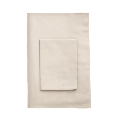 T300 Company Cotton Percale Fitted Sheet