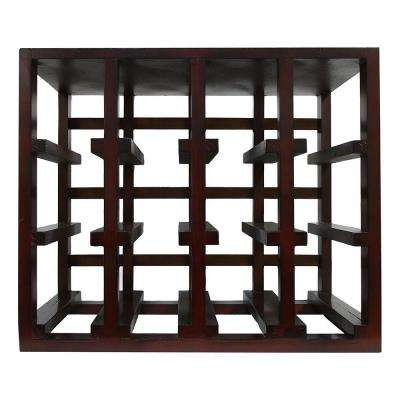 Stackable 12-Bottle Wine Rack