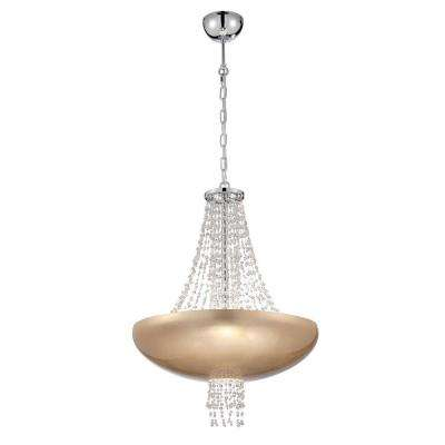 Lopez Collection 9 Light Gold Pendant