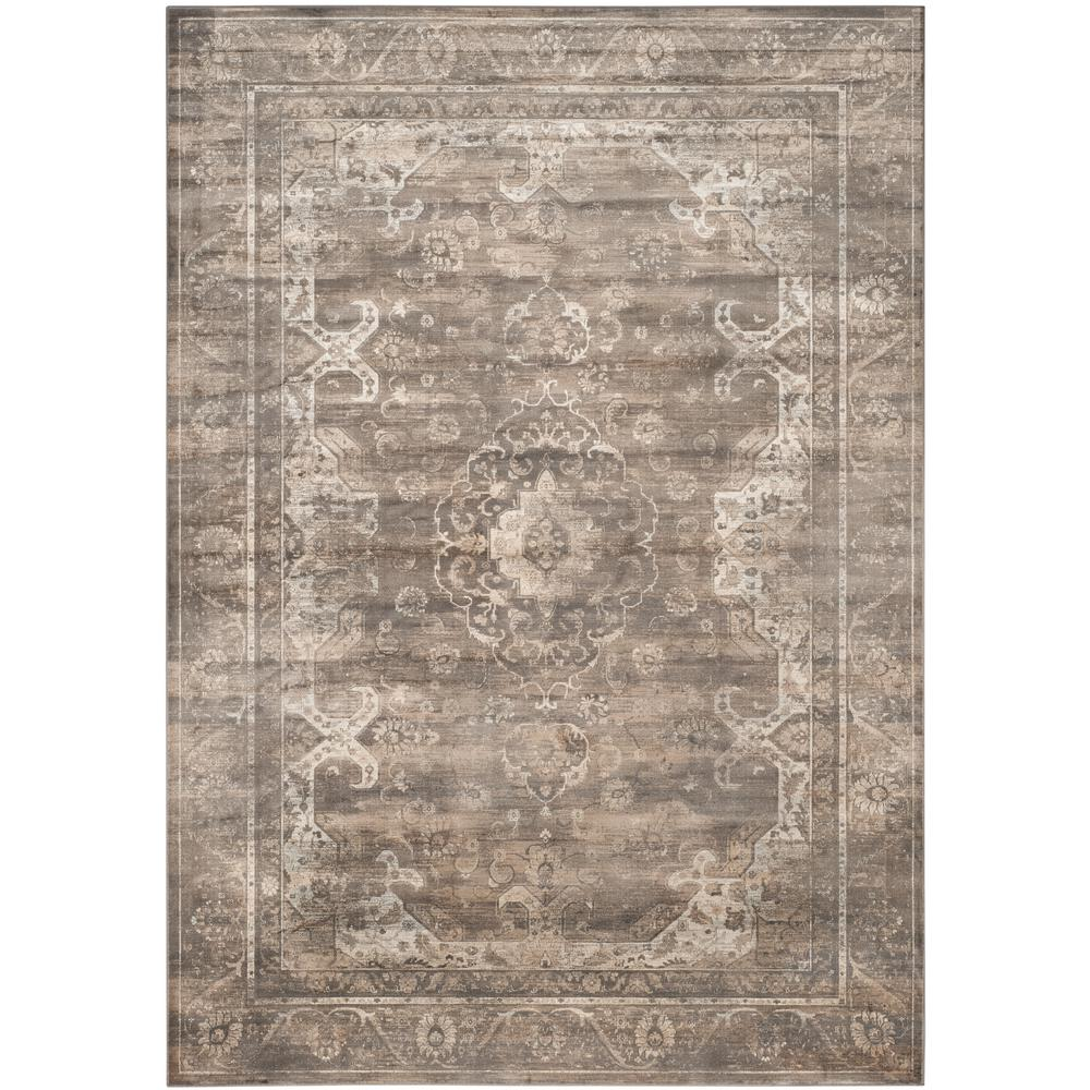 Safavieh Vintage Soft Anthracite 8 Ft X 11 Ft 2 In Area