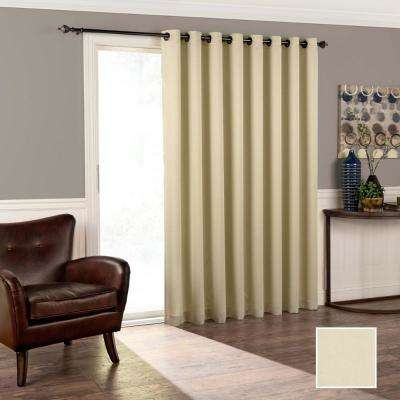 Tricia 84 in. L Polyester Curtain in Stone