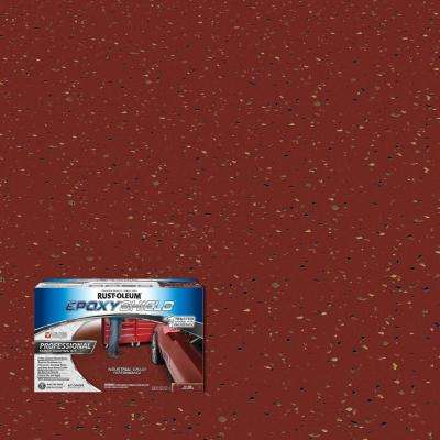 Tile Red Semi Gloss Professional Floor Coating Kit 2 Pack