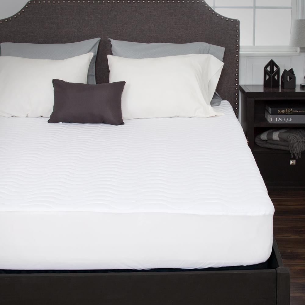Bluestone King 16 In Down Alternative Mattress Pad With Fitted