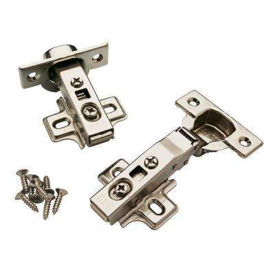 35 Mm 110 Degree Full Overlay Soft Close Cabinet Hinge 5 Pairs