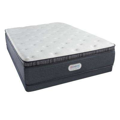 Platinum Spring Grove Plush Pillow Top King Low Profile Mattress Set