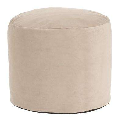 Bella Sand Tall Pouf