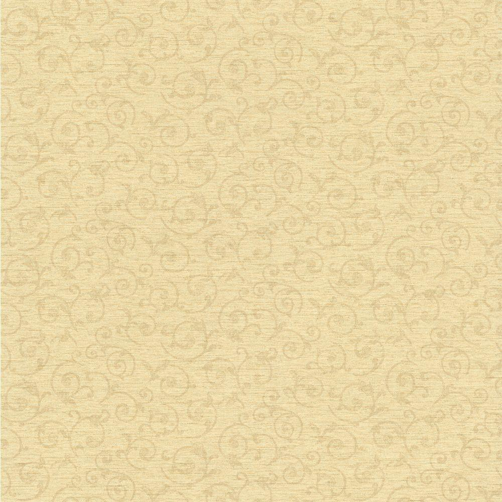 null Ancha Sage Scroll Texture Wallpaper