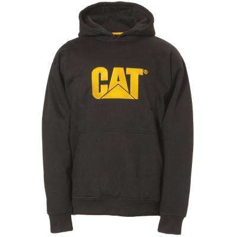 Trademark Men's Size Medium Black Cotton/Polyester Hooded Sweatshirt