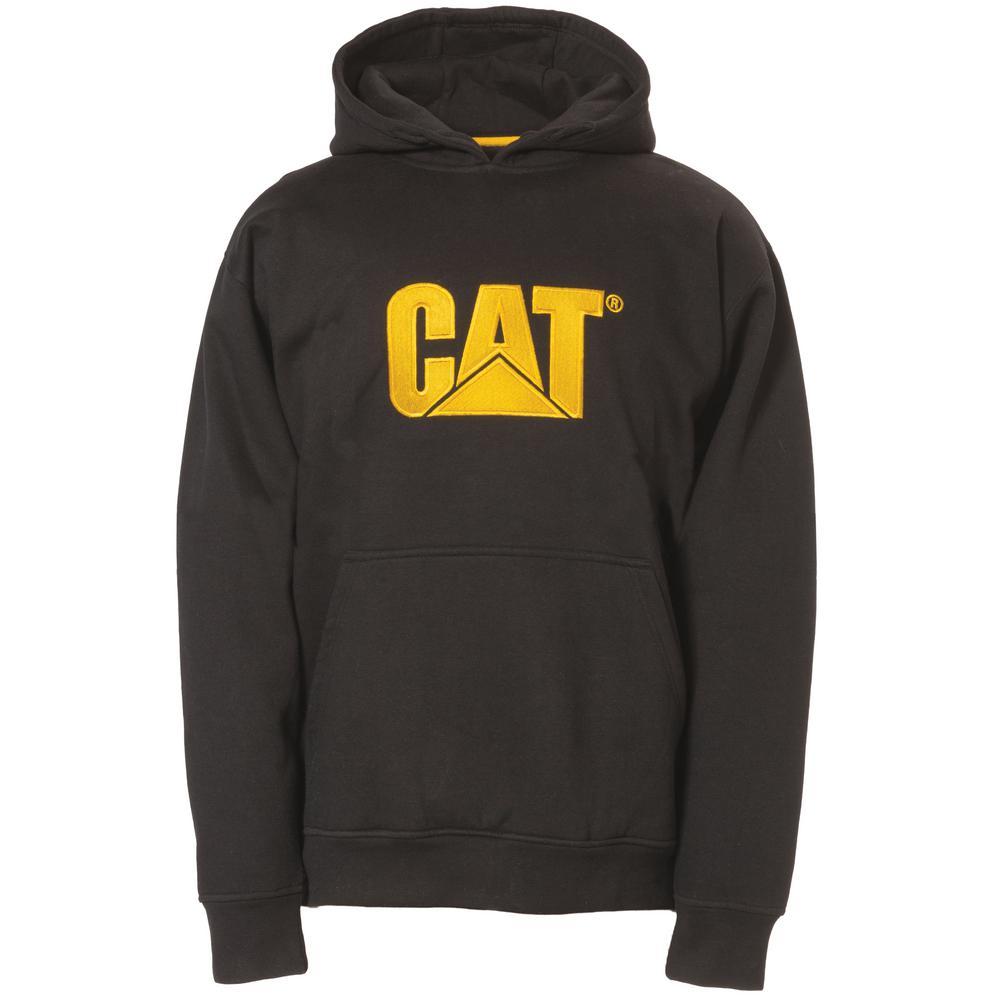 Trademark Men's Size X-Large Black Cotton/Polyester Hooded Sweatshirt