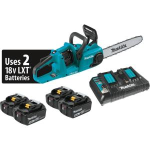 Makita 14 inch 18-Volt X2 (36-Volt) LXT Lithium-Ion Brushless Cordless Chainsaw... by Makita