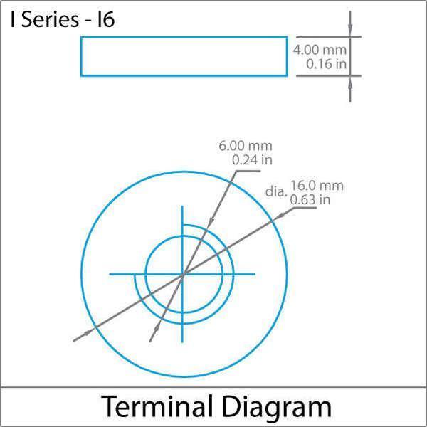 12-Volt 110 Ah I6 Terminal Sealed Lead Acid (SLA) AGM Rechargeable Battery