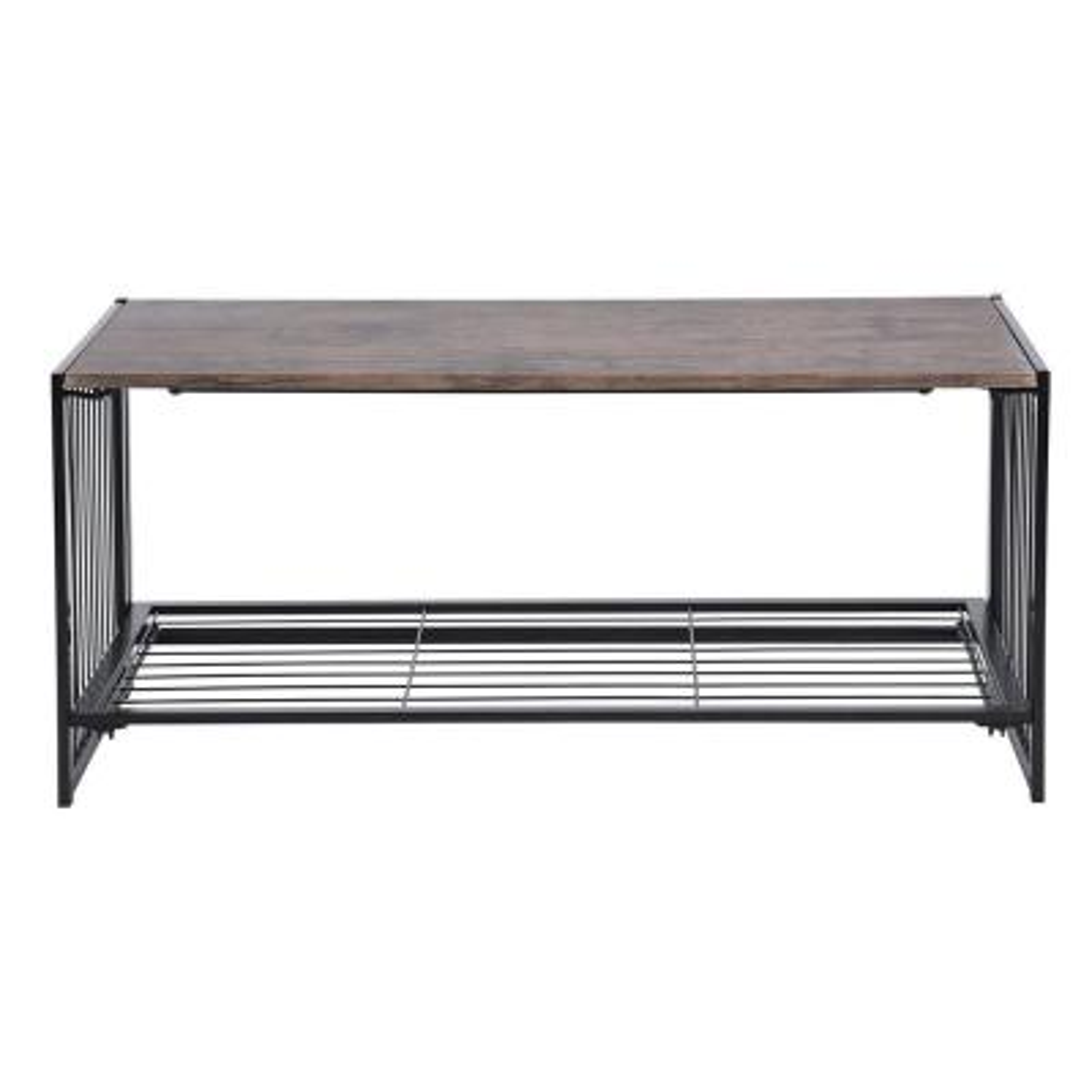 Line Zen 18 in. Walnut Wooden Folding Coffee Table