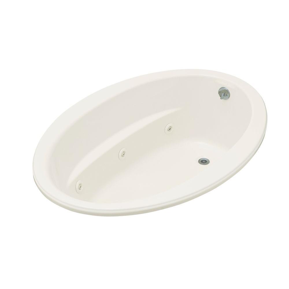 Kohler Sunward Bubblemassage 5 Ft Acrylic Oval Drop In