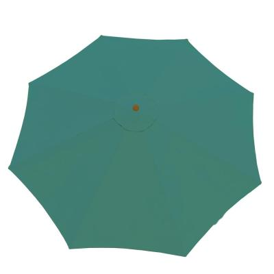 9 ft. Market Patio Umbrella in Green