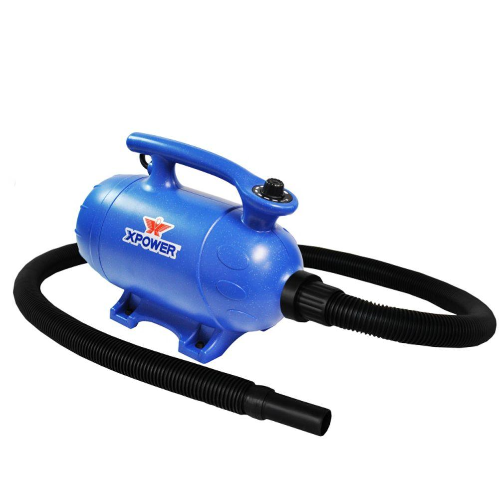 XPOWER 3 HP Variable Speed 2-in-1 Pet Dryer + Vacuum