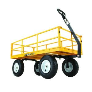 Deals on Gorilla Carts 1,200 lbs. Heavy Duty Steel Utility Cart GOR1201B