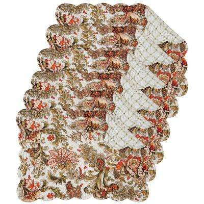Jocelyn Green Placemat (Set of 6)