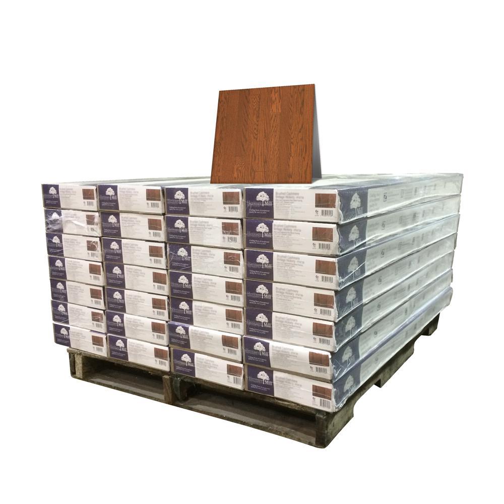 Oak Almond 1/2 in. Thick x 5 in. Wide x Random Length Engineered Hardwood Flooring (868 sq. ft. / pallet)