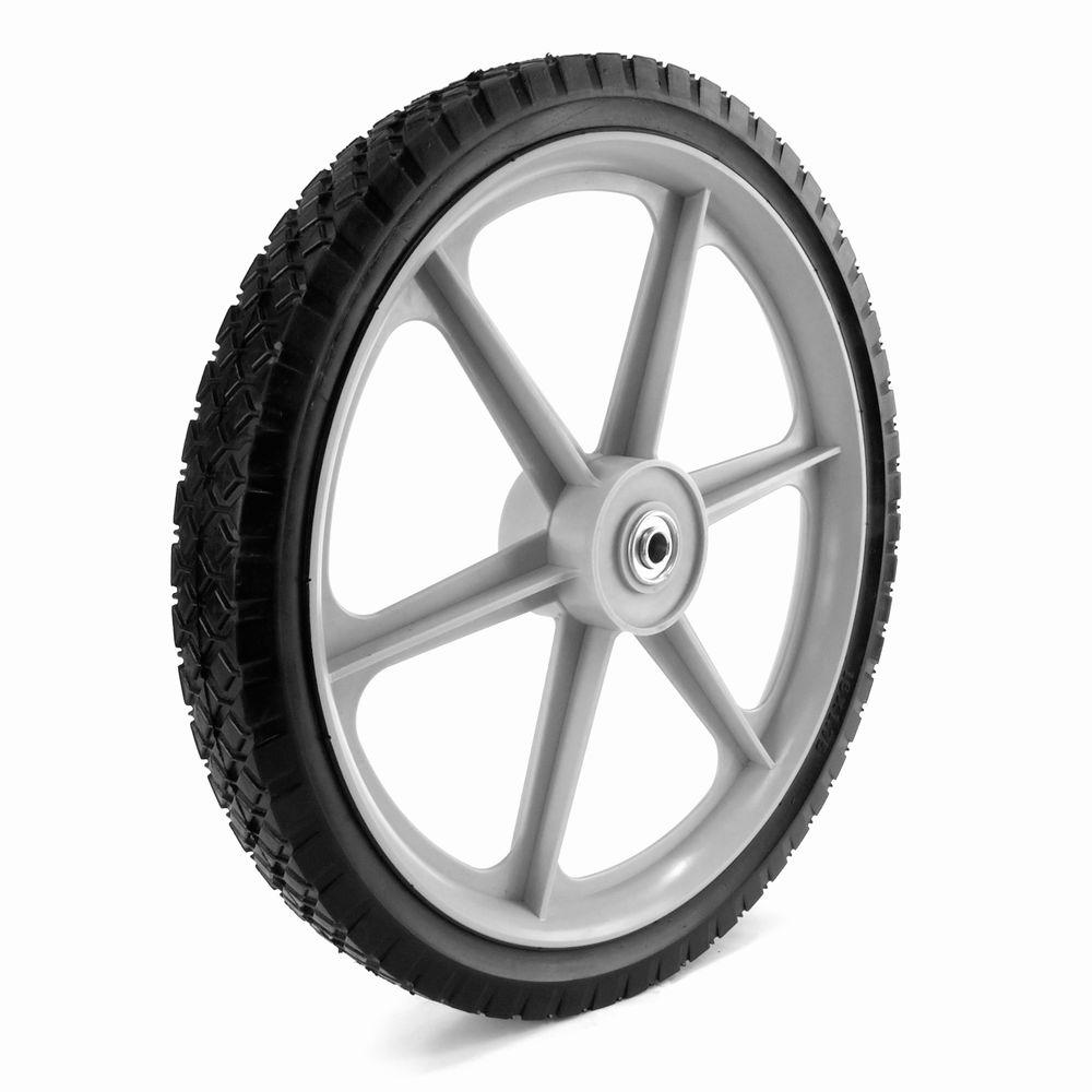 Martin Wheel 16x1 75 Plastic Spoke Semi Pneumatic Wheel 1 2 In