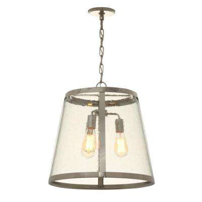 Harrow 3-Light Polished Nickel Pendant