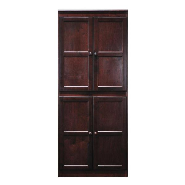 Concepts In Wood Multi Use Storage Pantry In Cherry Kt613b
