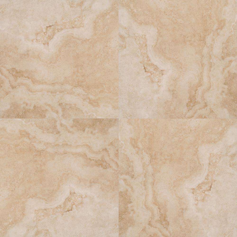 Isabela Beige 24 in. x 24 in. Matte Porcelain Paver Tile (14 pieces / 56 sq. ft. / pallet)