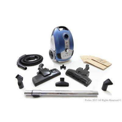 Tritan Canister Vacuum HEPA Sealed Hard Floor Vacuum with Powerful 12 Amp Motor