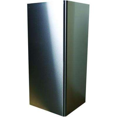 26 in. Stainless Steel Flue Extension for Yosemite Home Decor MCAS and MCAH Range Hood Series