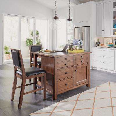 Tahoe Aged Maple Kitchen Island ... & Stools - Kitchen Islands - Carts Islands u0026 Utility Tables - The ... islam-shia.org