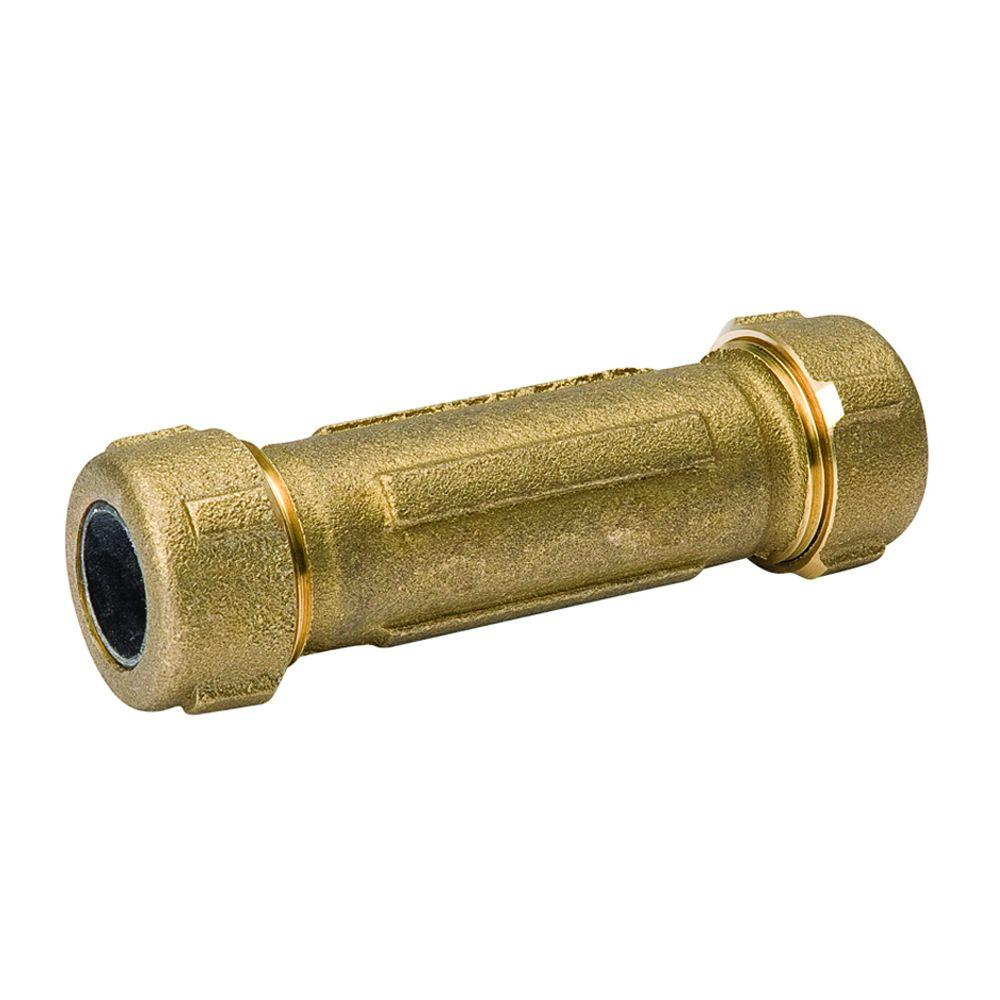 B&K Faucets 1 in. Lead Free Brass FPT Compression Coupling