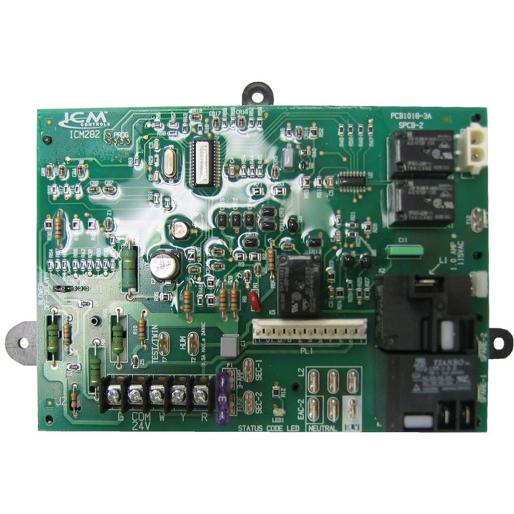 7 in carrier furnace control board icm282 the home depotcarrier furnace control board