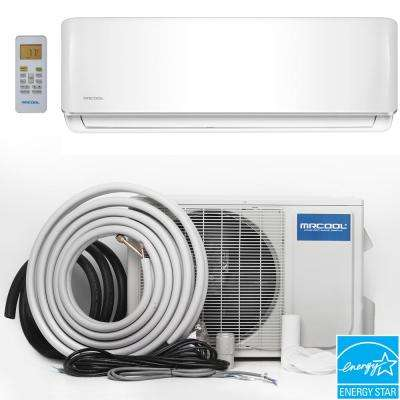 Oasis ES 18,000 BTU 1.5 Ton Ductless Mini Split Air Conditioner and Heat Pump - 230V/60Hz