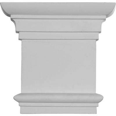 8-1/4 in. x 2 in. x 7-7/8 in. Primed Polyurethane Traditional Capital