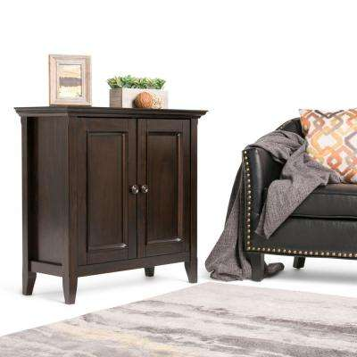 Amherst Dark Brown Storage Cabinet