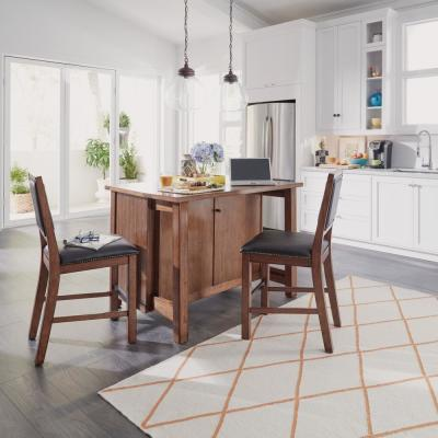Wondrous Homestyles Tahoe Aged Maple Kitchen Island With Granite Top Machost Co Dining Chair Design Ideas Machostcouk
