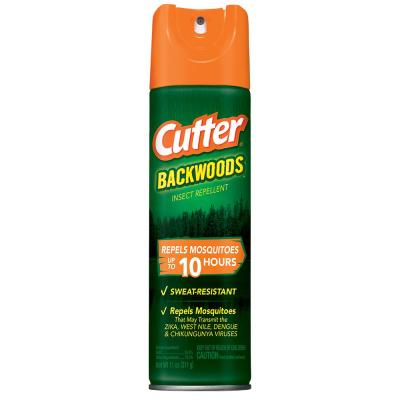 11 oz. Backwoods Mosquito and Insect Repellent Aerosol with 25% DEET