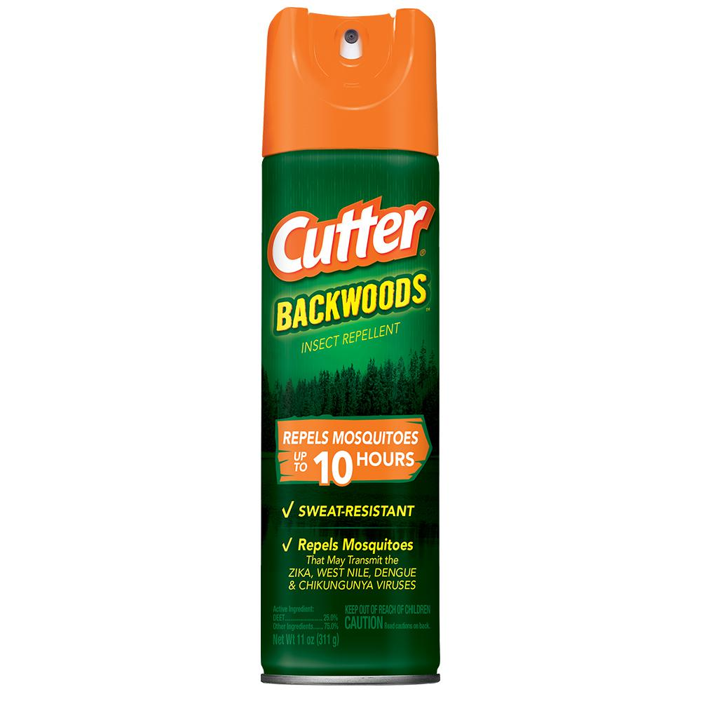 Cutter Backwoods 11 oz Insect Repellent Aerosol With 25% DEET