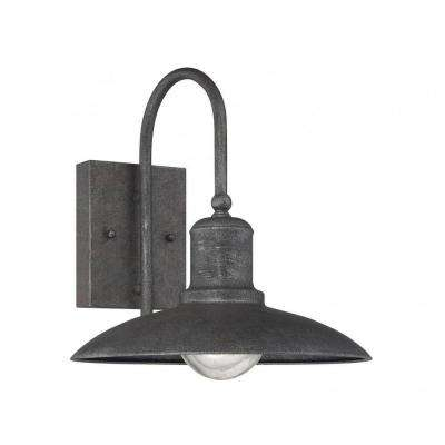 Follonica 1-Light Artisan Rust Outdoor Wall Mount Lantern