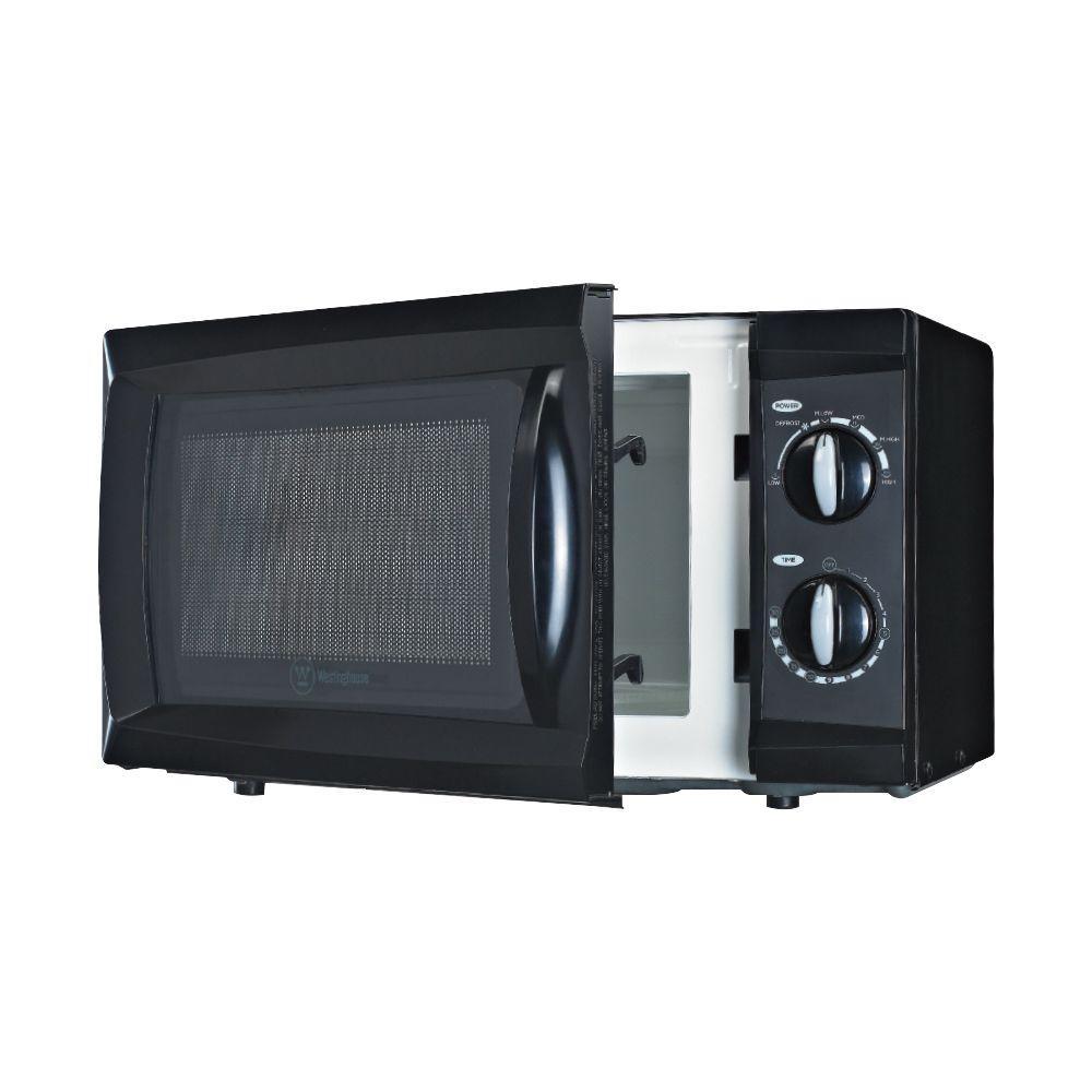 0.6 cu. ft. Built-In Microwave in Black