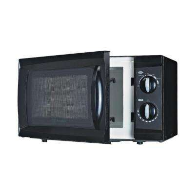 0.6 cu. ft. Counter-Top Microwave in Black