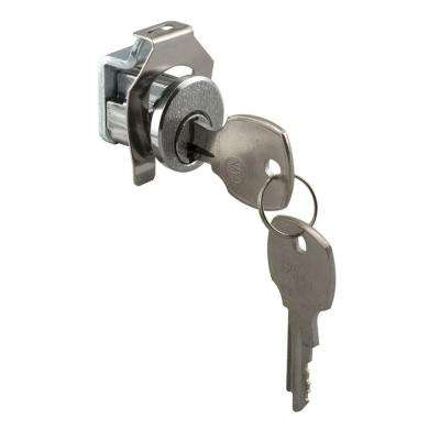 Nickel National Counter-Clockwise Mail Box Lock