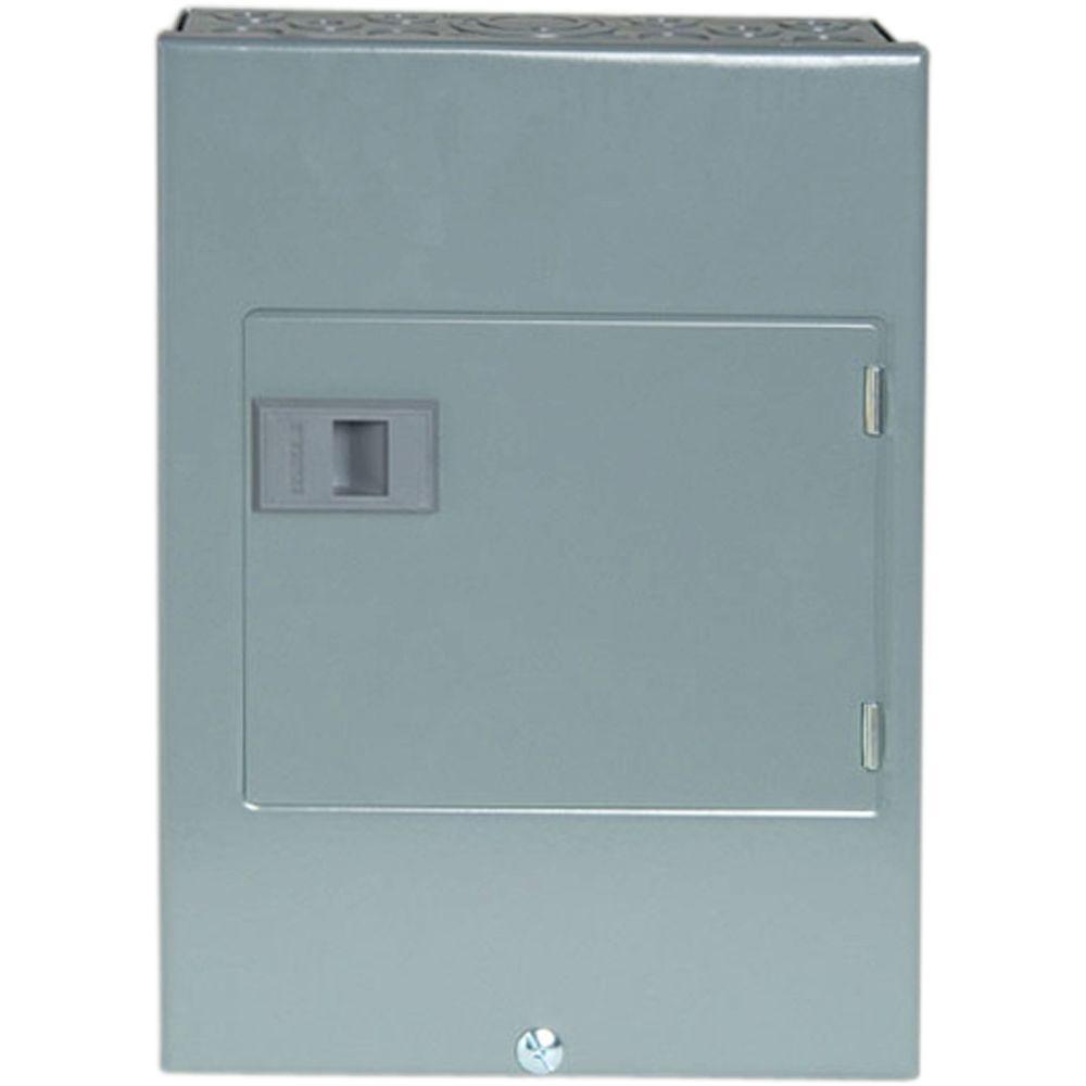QO 60-Amp 4-Space 8-Circuit Generator Main Breaker Indoor Manual Transfer Switch