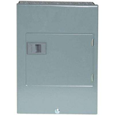 QO 60-Amp 4-Space 8-Circuit Generator Main Breaker Indoor Manual Transfer Switch
