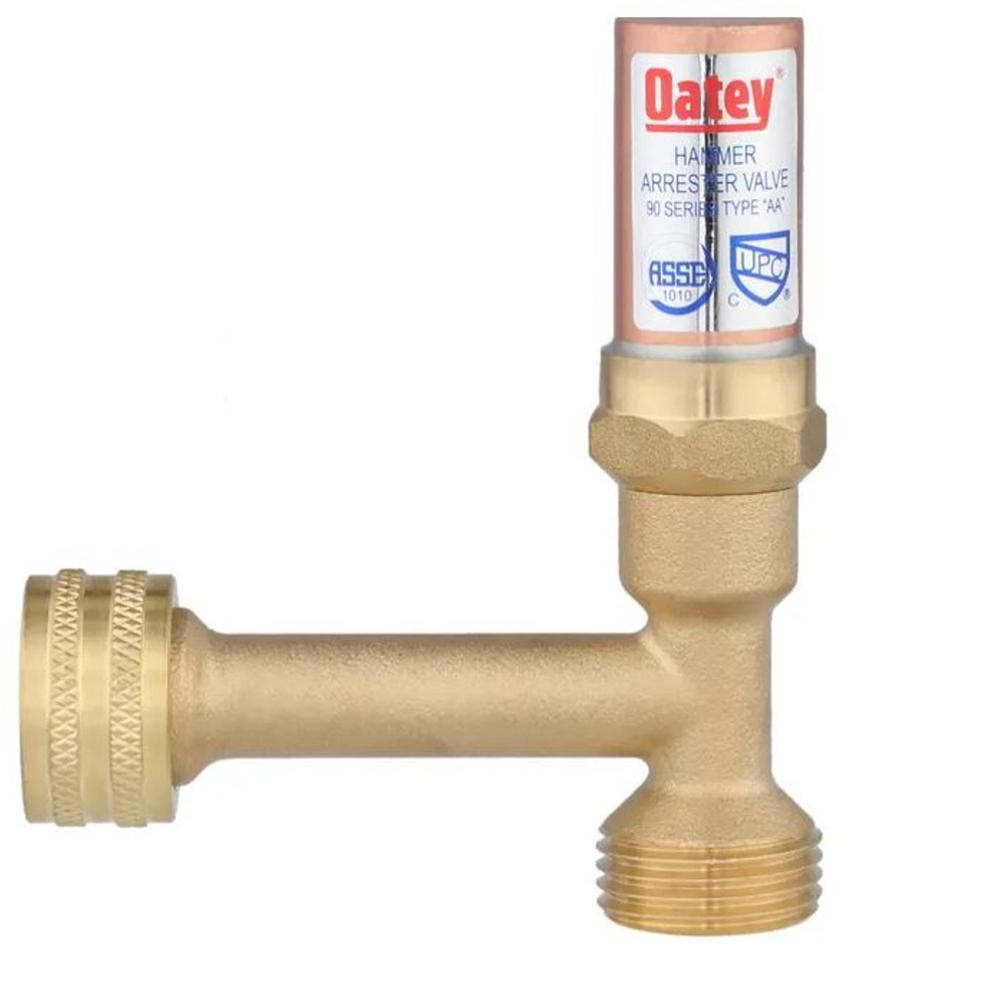 Oatey 3 4 In Cpvc Quiet Pipes Washing Machine Water Hammer Arrester 38600 The Home Depot
