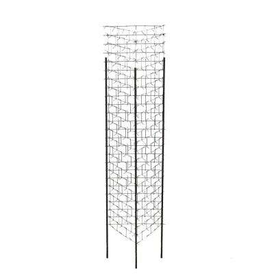 47 in. Tree Protector Galvanized Steel with Rebar (Set of 4)
