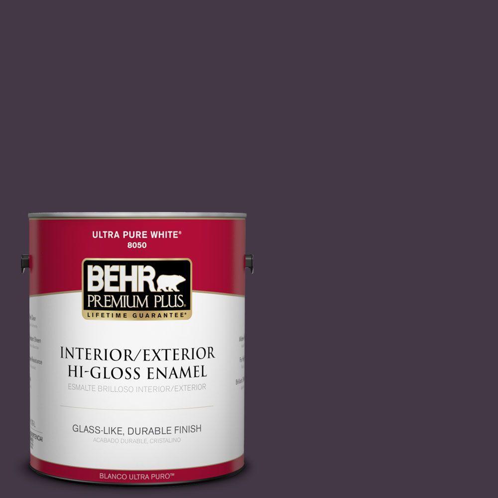 1-gal. #ECC-17-3 Napa Harvest Hi-Gloss Enamel Interior/Exterior Paint