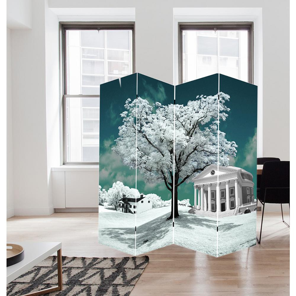 71 In Tree Of Life Art Canvas Room Divider