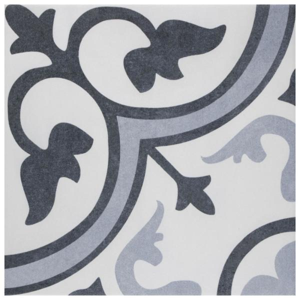 Amberes Azul II 13 in. x 13 in. Ceramic Floor and Wall Tile (15.85 sq. ft./Case)