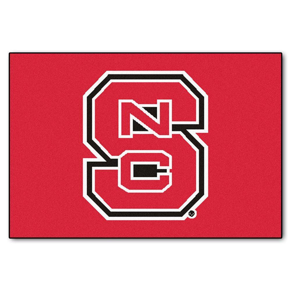 North Carolina State 19 in. x 30 in. Accent Rug
