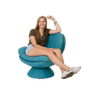 Phenomenal Comfort Chair Rio Turquoise Blue Fabric Leisure Chair Lamtechconsult Wood Chair Design Ideas Lamtechconsultcom